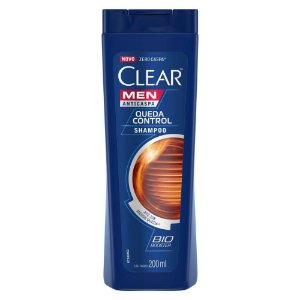 Shampoo Anticaspa Clear Men Controle Da Queda 200ml