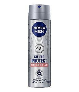 Desodorante Nivea Aerosol Silver Protect 150ml