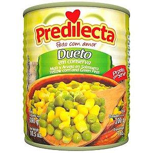 Dueto Milho e Ervilha Predilecta Lata 200g