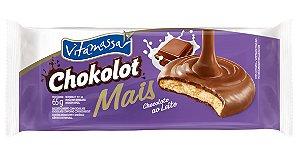 Biscoito Vitamassa Chokolot Mais Chocolate Ao Leite 65g