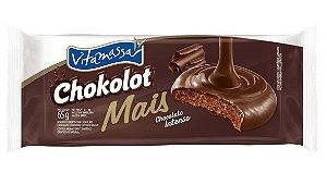 Biscoito Vitamassa Chokolot Mais Chocolate Intenso 65g
