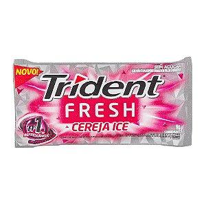 Chiclete Trident Fresh Cereja Ice 8g com 5 Unidades