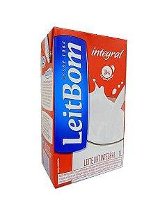 Leite Integral LeitBom 1Lt