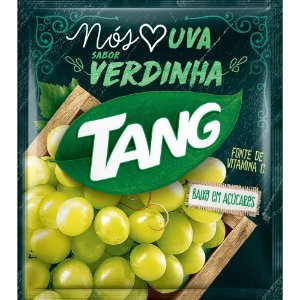Refresco em Pó sabor Uva Verde Tang 25g