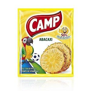 Refresco em Pó Sabor Abacaxi Camp 15g