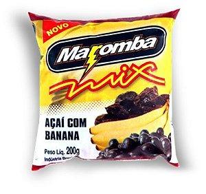 Polpa Energética Maromba Mix Açai com Banana 130g