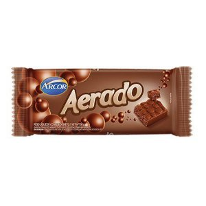 Chocolate Arcor Aerado Barra 30G