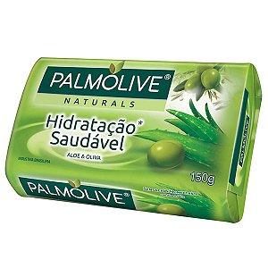 Sabonete em Barra Hidratação Saudável Aloe e Oliva Naturals Palmolive 150g