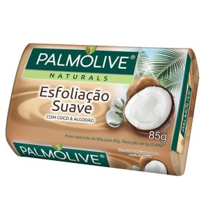 Sabonete Palmolive Naturals Esfoliação Suave Coco E Algodão Barra 90g