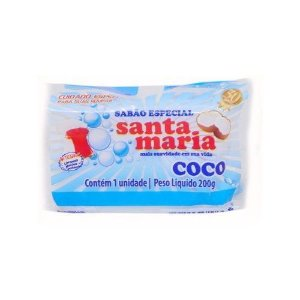 Sabão de Coco Barra Santa Maria 200g