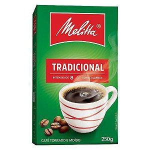 Café Melitta Tradicional Torrado E Moído Caixa 250g