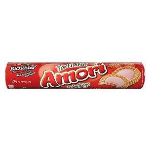 Biscoito Richester Amori Tortinhas Morango 150g