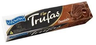 Biscoito Recheado Vitamassa Trufa de Chocolate 140g