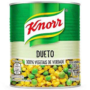 Dueto Milho e Ervilha em Conserva Knorr Lata 170g