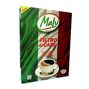 Filtro de Papel Malu para Café 103 30 filtros