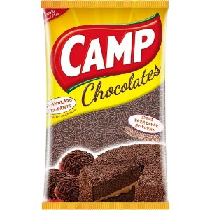 Chocolate Granulado Crocante Camp 130G