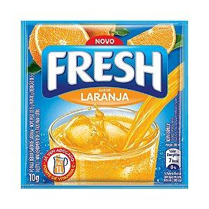 Refresco Fresh Em Pó Sabor Laranja 10g