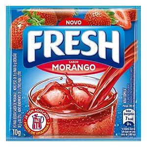 Refresco Fresh Em Pó Sabor Morango 10g