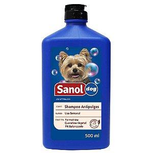 Shampo Antipulgas Sanol Dog 500ml