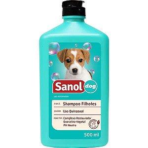 Shampoo Sanol Dog Filhotes 500 mL