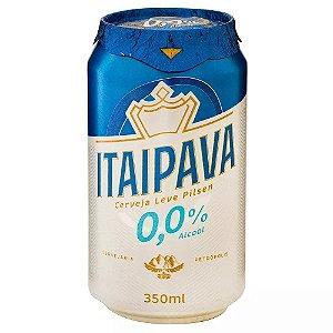Cerveja Zero Alcool Itaipava Lata 350ml