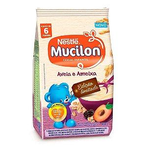 Mucilon Aveia e Ameixa Cereal Infantil Sachê 180g