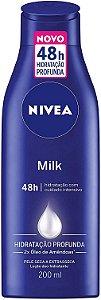 Loção Hidratante Milk Nivea 200ml