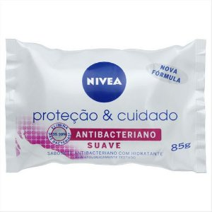 Sabonete Nivea Antibacteriano Suave 85g