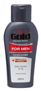 Condicionador para Cabelo NIELY Gold For Men 200ml