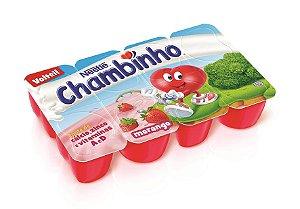 Petit Suisse Nestle Chambinho Morango 320g