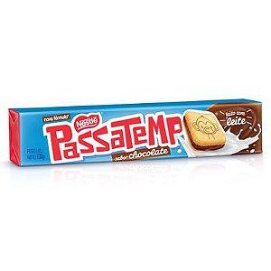 Biscoito Passatempo Recheado Chocolate 130g