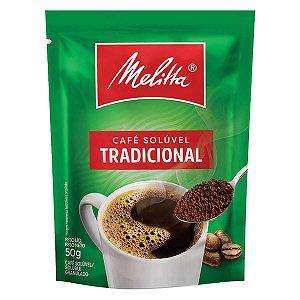Café Solúvel Tradicional MELITTA Sachê 50g