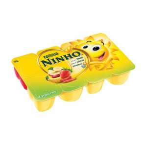 Petit Suisse NINHO Morango, Banana e Maçã 320g