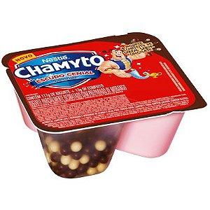 Iogurte Chamyto Morango com Cereais de Chocolate 130g