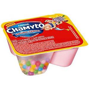 Iogurte Chamyto Morango com Cereais Coloridos 130g