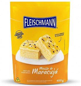 Mistura Para Bolo Fleischmann Clara Mousse de Maracujá 450g