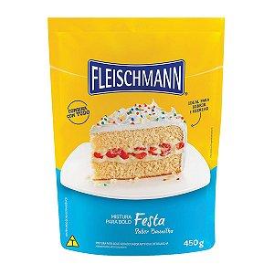 Mistura para Bolo Baunilha Fleischmann 450g
