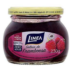 Geleia Framboesa Zero Açúcar Linea Vidro 230g