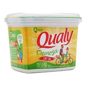 Margarina Cremosa sem Sal Qualy Pote 500g