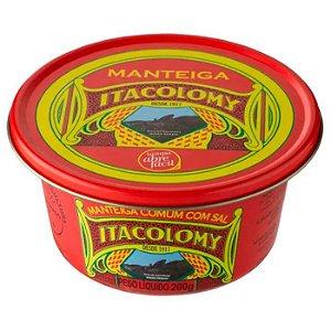 Manteiga Itacolomy Com Sal Lata 200g