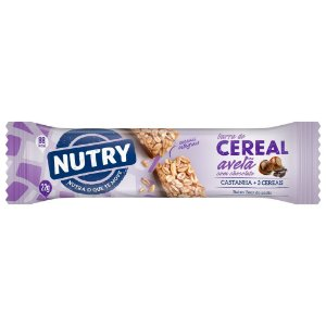 Barra de Cereal Nutry Avelã com Chocolate 22g