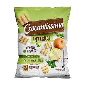 Salgadinho Integral Crocantíssimo Cebola e Salsa 40g