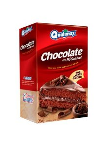 Chocolate em Pó Solúvel 32% Cacau Qualimax 200g