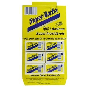 Lâmina Super Barba Cart C/60 UNI