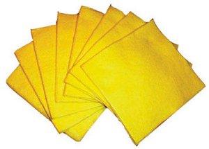 Pano de Pia Amarelo C/10