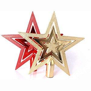 Ponteira Estrela 15cm Cores