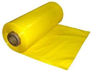 Lona Plástica Amarela Fina 4x100