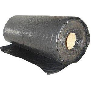 Lona Plástica em Bobina Preta Fina 4x12 KG
