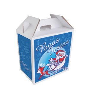 Caixa de Cesta de Natal Basic / Premium / Top