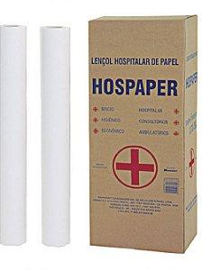 Lençol Hospaper 50m70cm C/2 UNI